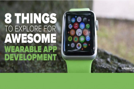 8 Things to Explore for Awesome Wearable App Development Infographic