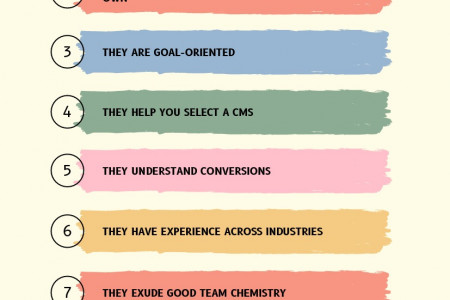 8 THINGS TO LOOK FOR IN A WEB DEVELOPMENT AGENCY Infographic