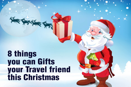 8 Things You Can Gift Your Travel Friend This Christmas Infographic