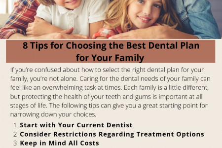 8 Tips for Choosing the Best Dental Plan for Your Family Infographic