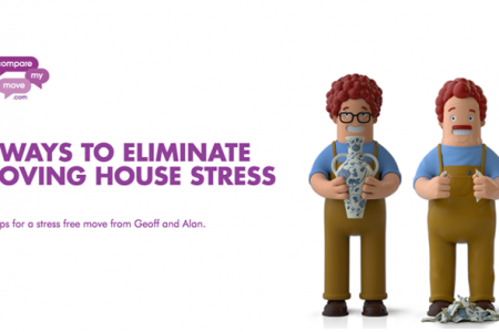 8 Ways To Eliminate Moving House Stress Infographic