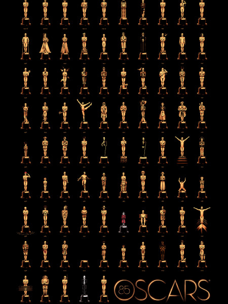 85 Oscars Infographic