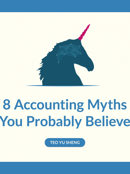 8 Accounting Myths You Probably Believe Infographic