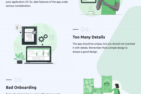 9 Common UX Design Mistakes To Avoid Infographic