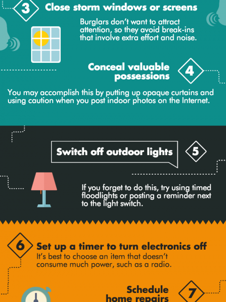 9 Easy Back-to-School Home Security Tips Infographic