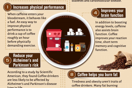 9 Healthy Reasons to Keep Drinking Coffee Infographic
