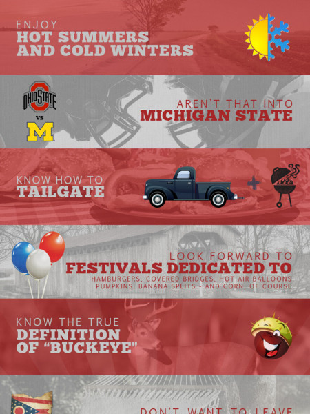 9 Signs You Should Live In Ohio Infographic