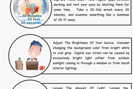 9 Tips To Help You Protect Your Eyes Now Infographic