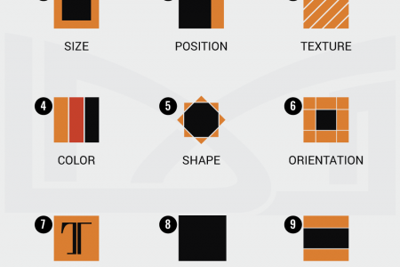 9 Ways to Add Contrast in Your Logo Design  Infographic
