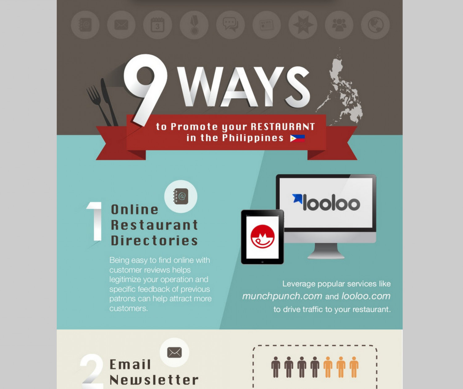 9 Ways to Promote Your Restaurant in The Philippines Infographic
