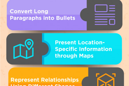 9 Ways to Turn Text-Heavy Slides into Stunning Visual Presentation Infographic