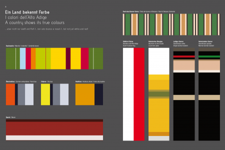 A country shows its true colours Infographic