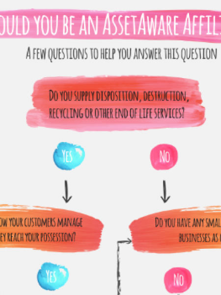 Affiliate Questionnaire for IT Software Infographic