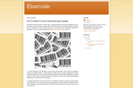 All You Need To Know About Barcode Supplies Infographic
