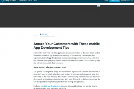 Amaze Your Customers with These mobile App Development Tips Infographic
