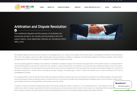 Arbitration and Dispute Resolution Infographic