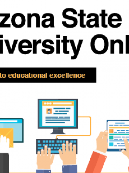 Arizona State University Online Infographic