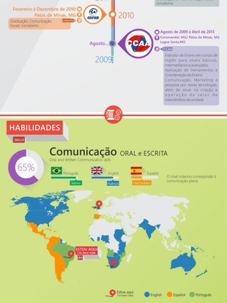 Arthur Figueiredo Infographic Resumé Infographic