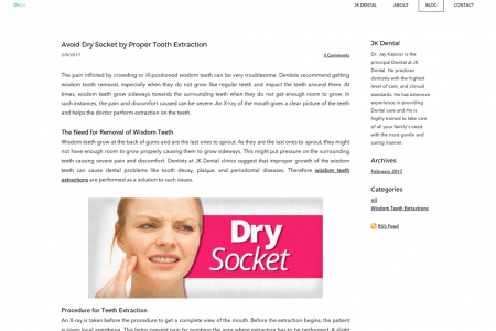Avoid Dry Socket by Proper Tooth Extraction in Melbourne Infographic