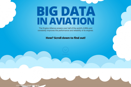 BIG DATA IN AVIATION Infographic