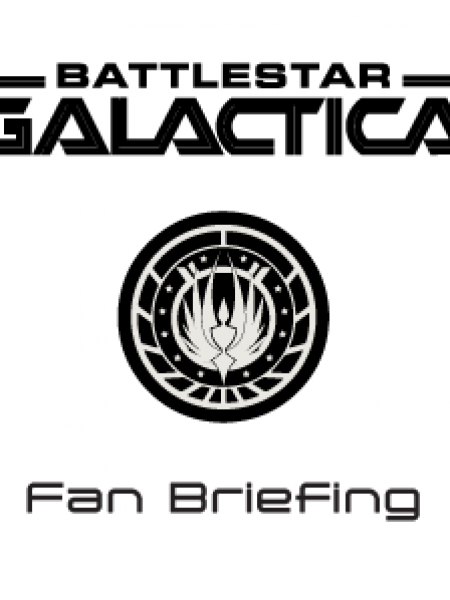 Battlestar Galactica Fan Briefing Infographic