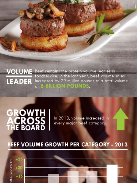 Beef. The Great American Protein Infographic