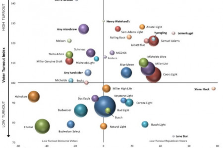 Beer, Elections, And What Your Drink Says About You Infographic