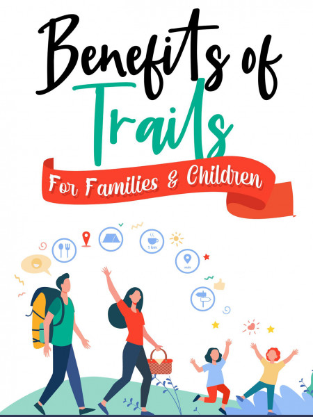 Benefits Of Trails For Families And Children Infographic
