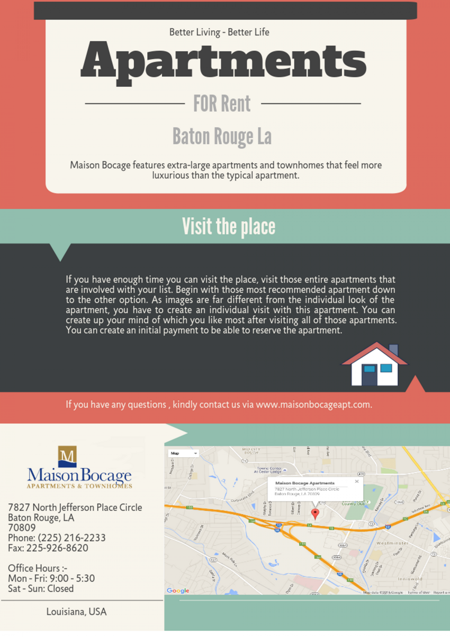 Best Apartments for Rent in Baton Rouge LA