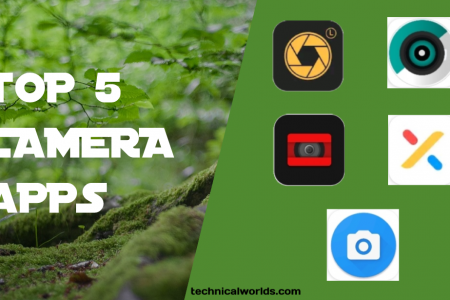 Best Camera Apps Infographic