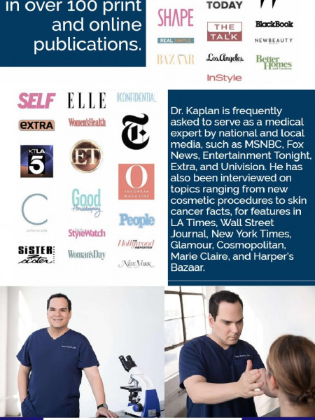 Best Dermatology Specialist In Los Angeles Infographic