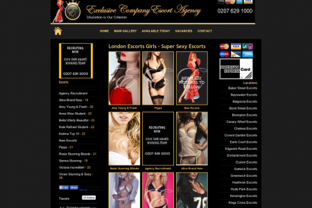 Best London escorts Infographic