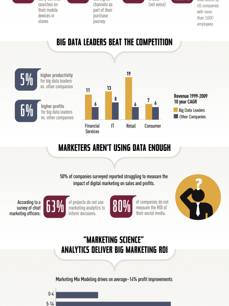 Big Data, Big Profits Infographic