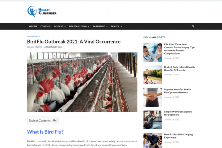 Bird Flu Outbreak 2021: A Viral Occurrence Infographic