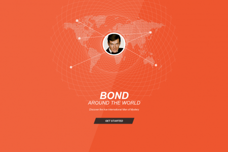 Bond Around the World Infographic