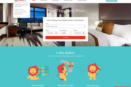 Booking Hotel Online Murah Infographic