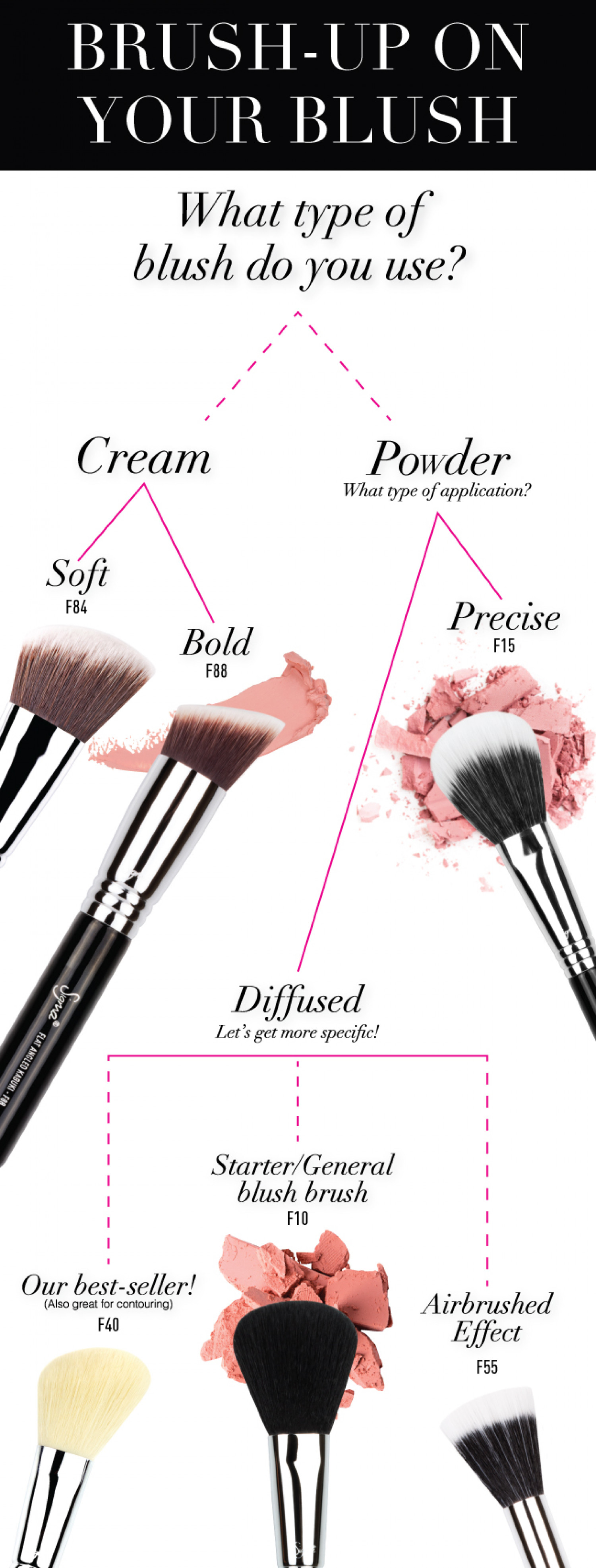 Brush-Up on Your Blush! Infographic