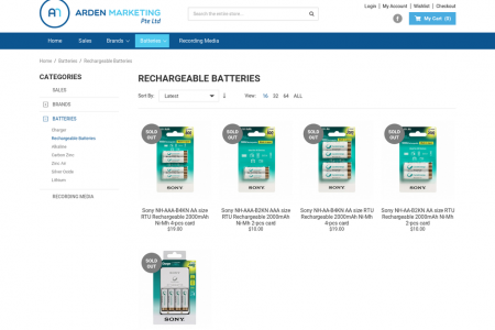 Buy Rechargeable Batteries Online Sydney Infographic