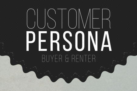 Customer Persona Buyer & Renter Infographic