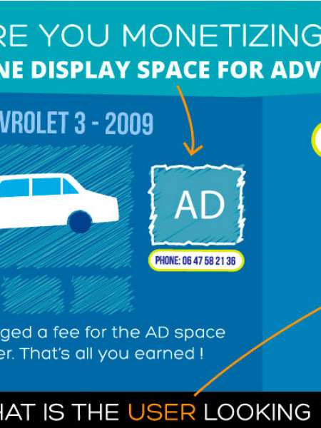 Call Advertisement Infographic