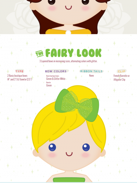 Cartoon Fashion - Hairclip Inspiration From Your Childhood Favorites Infographic
