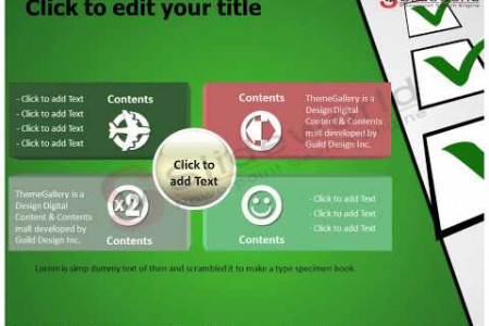 Checkbox Powerpoint Template - SlideWorld Infographic