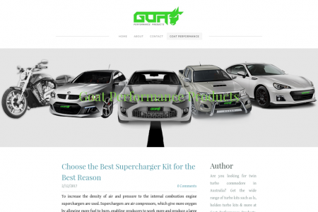 Choose the Best Supercharger Kit for the Best Reason Infographic