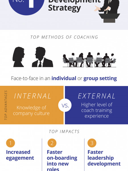 Coaching within Organizations Infographic