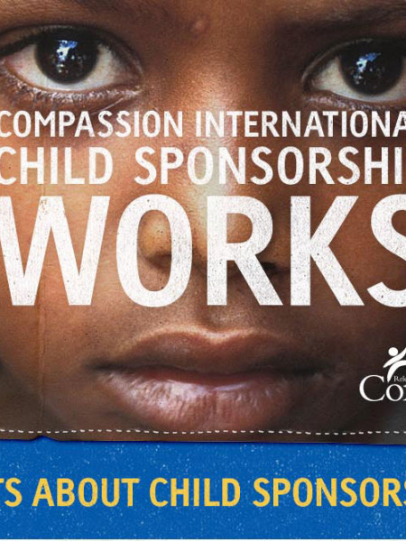 Compassion International Child Sponsorship Works Infographic