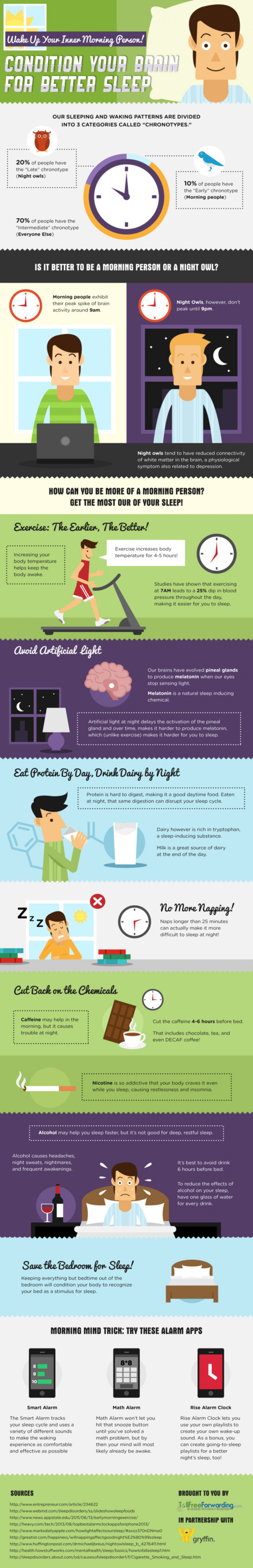 Condition Your Brain for Better Sleep Infographic