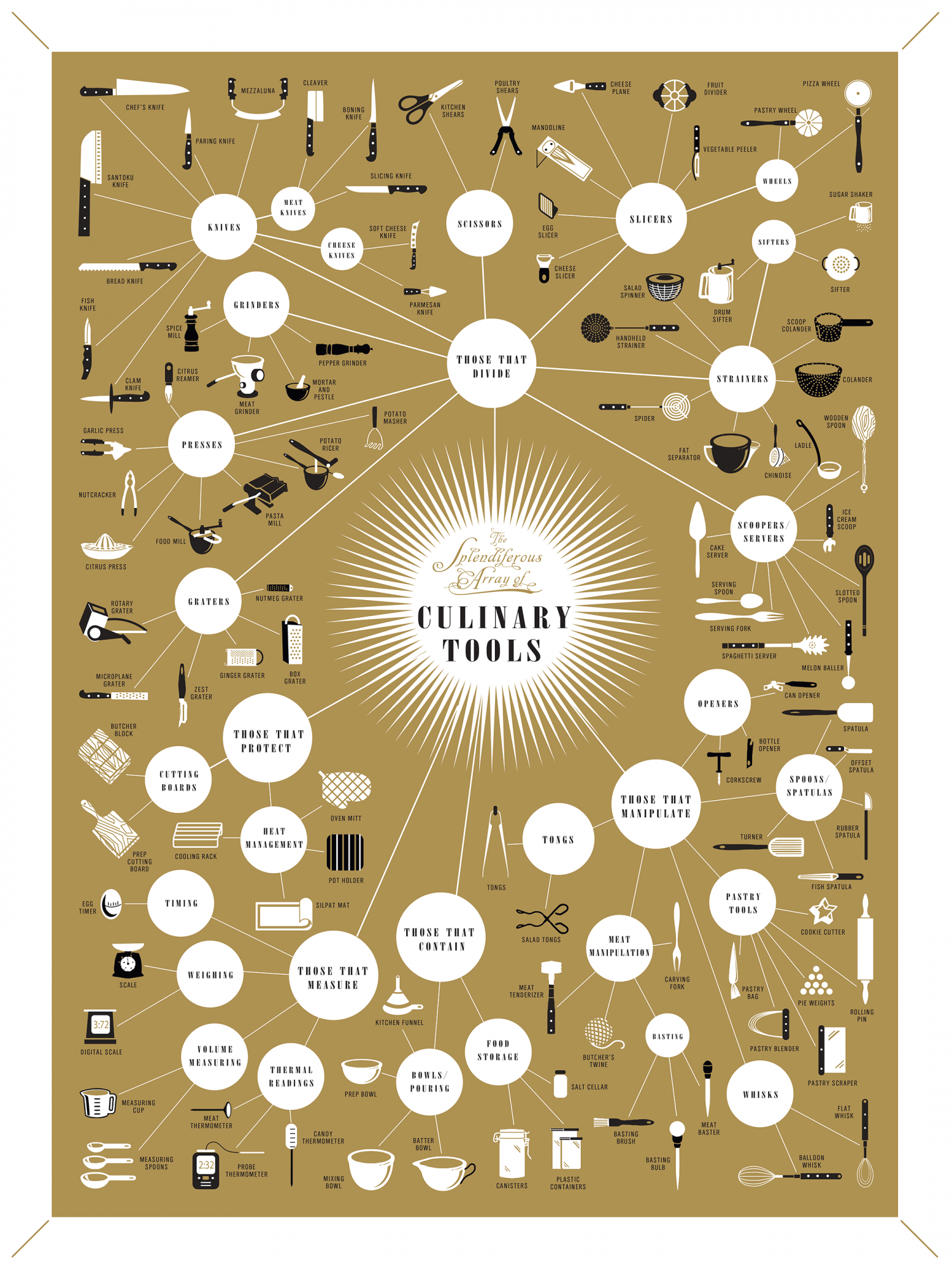 Culinary Tools Infographic