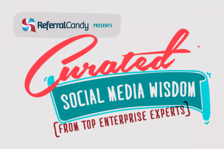 Curated Social Media Wisdom From Top Enterprise Experts Infographic
