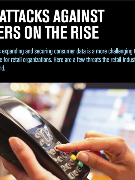Cyber Attacks Against Retailers on the Rise  Infographic