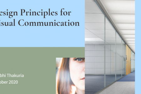 Design Principles for Visual Communication Infographic